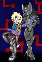 Rock on Lady Ultron by Chaoscroc by singory