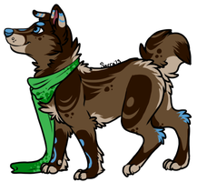 Unique Dog Adoptable for Points(CLOSED) by SierratheSharkDoge