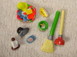 miniature household stuff by KRSdeviations
