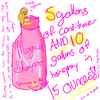 Join.Me Doodle: Magical Shampoo by MaeWings
