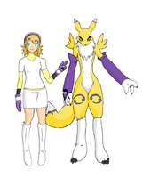 Renamon Fashion (10) by MitzvahRose