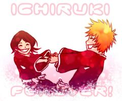 Hold Hands - IchiRuki by Kotik-Stells