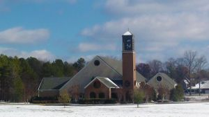 Church at Golden Springs by jesus-at-art