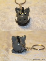 A mini-boar (Commission) by AnimalisCreations