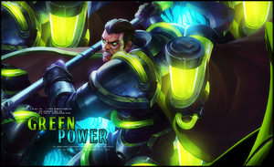 Green Power V2 by StormShadownGFX