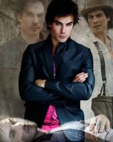 Damon Salvatore by princessalice10