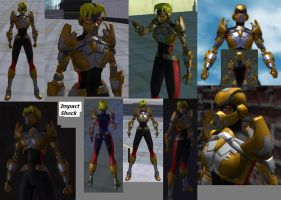 CoH Toon Collage 02 by Jaguard