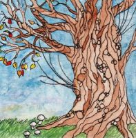 Like a fruit tree in winter by monbaum