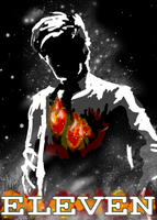 11th Doctor Poster by Chrisily