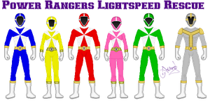 Power Ranger Lightspeed Rescue by Ameyal