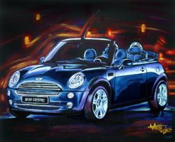 Mini Cooper by aaronwty