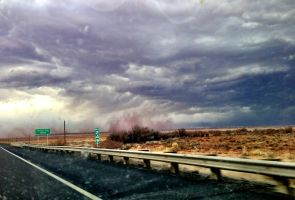 Distant Dust Storm by TheGerm84