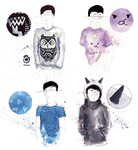 Dan and Phil style ~ Inktober summary part 2 by szluu