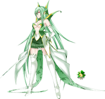 Serperior Personate(Girl)_140121 by Matchagreen