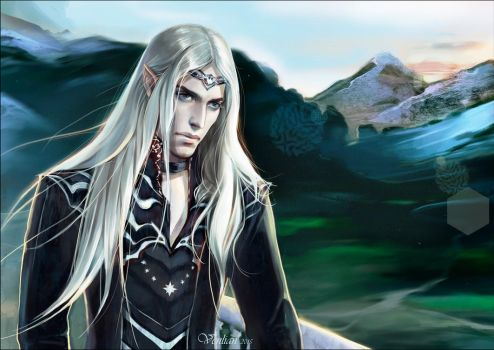 Celegorm son of Feanor by Venlian