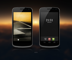 Galaxy Nexus v7 by zomx