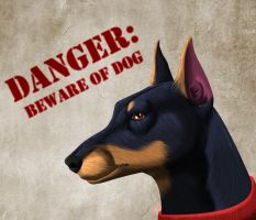 Doberman-Commission by HDevers