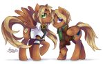 MLP: Eithen and Aiden by Pink-Angel-Kitty