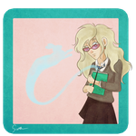 Luna Lovegood by llSarall