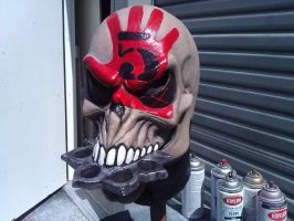 Five Finger Death Punch mask 2 by CarnevaleObscura