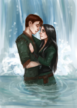 Peter and Keira by Flomaniaque