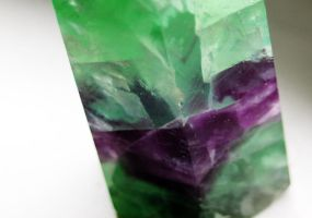 Tourmaline with Amethyst running through by winterface
