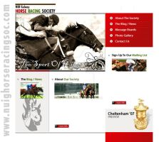 NUIG Horse Racing Website by alessandrodelp