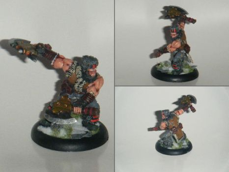 Khador Manhunter by fips001
