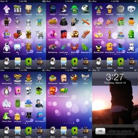 My ipod touch theme by giwrgos