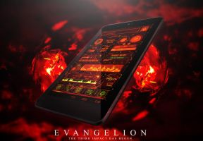 [HD]Evangelion NERV SH06D Theme (Android) by theNBT