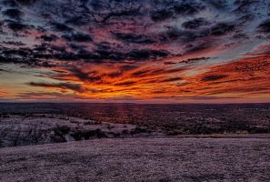 Enchanted Rock Sunset by badchess