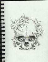 Skull Tattoo Design by Frosttattoo