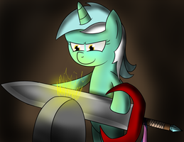 NATG 2 - #11 Pony Fixing Something by Alexstrazse