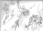 Structure Drawing Battle Mage by CWilliamRussette