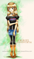 ToT: Amiriel Dunsworth by It-is-a-circle