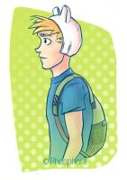 Adventure Time Finn by Dapper-Rabbit