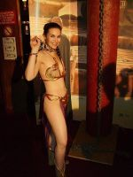 Slave leia in Paris by locomotiva