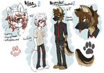 An AU For the AU where they are furries. by KingNeroche