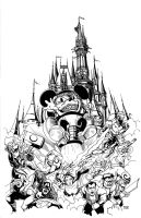 Mickey M.O.D.O.K. INKS by Theamat