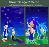 Before and After Meme OwO by Sonicbandicoot