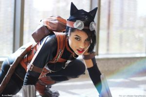 Insurgency - Catwoman Injustice by IsaSinara
