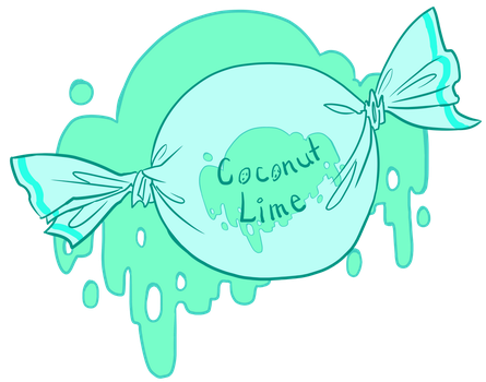 Coconut Lime Candy by Dinosaurolophus