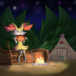 Night Camping by Reikomuffin