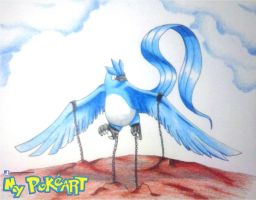 Chained Articuno V2 by mypokeart