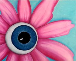 Eye Flower by messicajessica