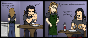 Breakfast With Jim by Jace-Mereel