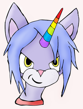 Anthro Meowicorn by Meowicorn