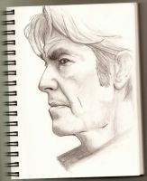 Portait of David Bowie by NationalGeo