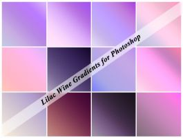 Lilac Wine PS Gradients by cazcastalla