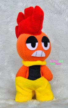Scrafty plushie by PinkuArt